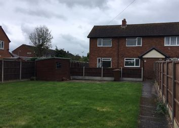 Thumbnail 2 bed property to rent in Oakfield Road, Alrewas, Burton Upon Trent, Burton Upon Trent, Staffordshire