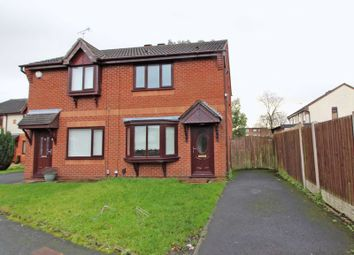 Thumbnail 2 bed semi-detached house for sale in Longfellow Close, Worsley Mesnes, Wigan