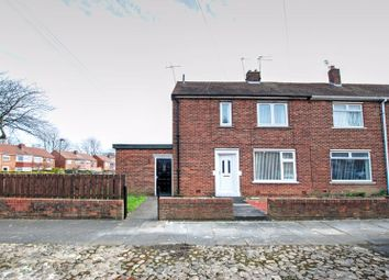 Thumbnail 1 bed flat for sale in Eshott Close, Gosforth, Newcastle Upon Tyne