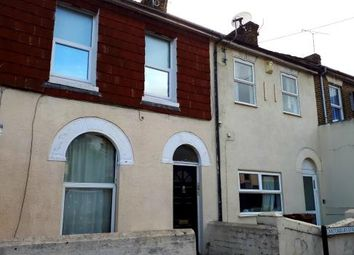 Thumbnail 2 bed flat for sale in Canterbury Street, Gillingham, Kent