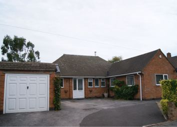 Thumbnail 4 bed detached bungalow for sale in Davenport Road, Leicester