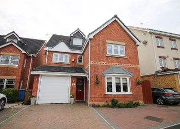 Thumbnail 4 bed detached house for sale in Rixtonleys Drive, Irlam, Manchester