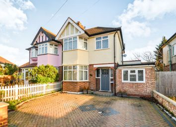 Thumbnail 4 bed semi-detached house for sale in Rustington Walk, Morden