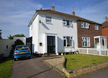 Thumbnail 3 bed semi-detached house to rent in Fairfield Way, Hitchin