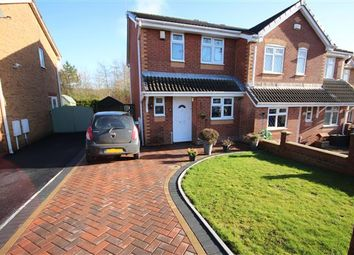 Thumbnail 3 bedroom semi-detached house for sale in Copplestone Grove, Meir Hay, Stoke-On-Trent