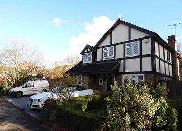Thumbnail 4 bed detached house for sale in Sherwood Close, Fetcham, Leatherhead