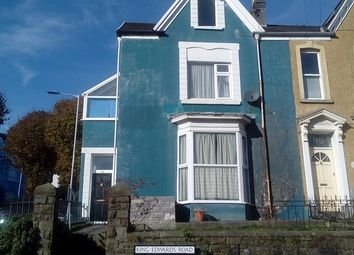 Thumbnail 1 bedroom property to rent in King Edwards Road, Swansea