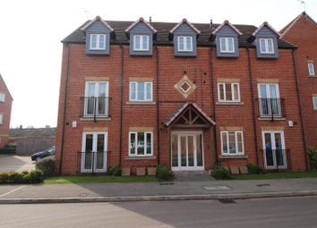 Thumbnail 2 bed flat for sale in Rushes Close, Beeston, Nottingham