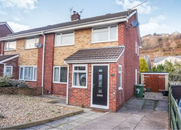 Thumbnail 3 bedroom semi-detached house for sale in Greenlands Road, Llantrisant, Pontyclun