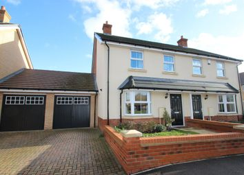 Thumbnail 3 bed semi-detached house for sale in Kingston Road, Benfleet
