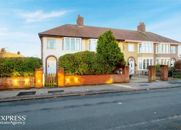 Thumbnail 3 bed end terrace house for sale in Leyburn Avenue, Fleetwood, Lancashire