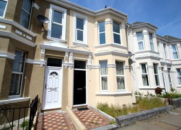 Thumbnail 2 bed flat to rent in Old Park Road, Peverell, Plymouth