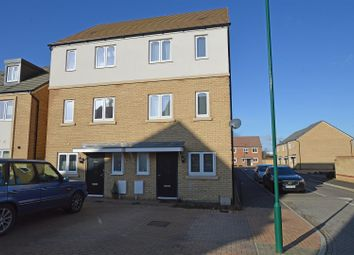Thumbnail 4 bed semi-detached house for sale in Kite Way, Hampton Vale, Peterborough