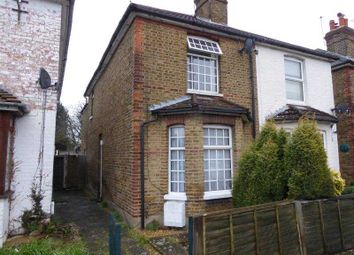 Thumbnail 2 bed semi-detached house to rent in Wendover Road, Staines, Middlesex
