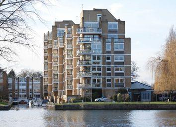 Thumbnail 3 bedroom flat for sale in Thamespoint, Fairways, Teddington