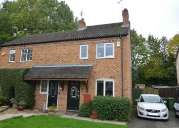 Thumbnail 2 bed semi-detached house for sale in Phillip Drive, Glen Parva, Leicester