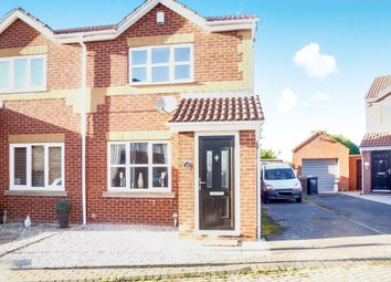 Thumbnail 2 bed semi-detached house for sale in Storrs Wood View, Cudworth, Barnsley