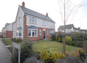 Thumbnail 4 bed detached house for sale in Summerfield Road, Coalville