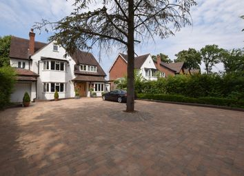 Thumbnail 4 bed detached house for sale in St. Bernards Road, Solihull