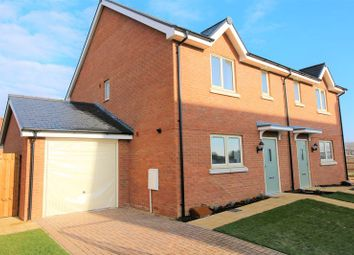 Thumbnail 3 bed semi-detached house for sale in Elmwood Close, Oakley, Aylesbury