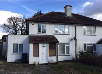 Thumbnail 3 bedroom semi-detached house to rent in Farnborough Avenue, Selsdon, South Croydon