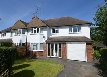 Thumbnail 4 bedroom semi-detached house for sale in Haldane Road, Caversham Heights, Reading