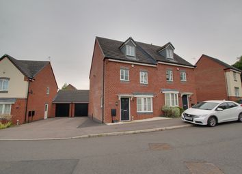 Thumbnail 4 bed semi-detached house to rent in Moulton Road, Hamilton, Leicester