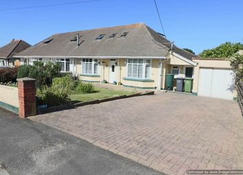 Thumbnail 4 bed semi-detached bungalow for sale in Oakland Avenue, Sticklepath, Barnstaple