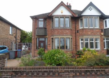 Thumbnail 3 bedroom semi-detached house to rent in St Walburgas Road, Blackpool