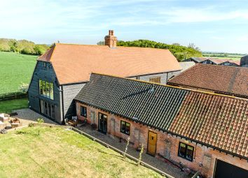 Thumbnail 5 bed detached house for sale in Envilles Barns, Little Laver, Ongar, Essex