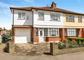 Thumbnail 4 bed semi-detached house for sale in Cannonbury Avenue, Pinner, Middlesex