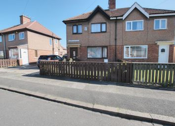 Thumbnail 3 bed semi-detached house for sale in Queens Gardens, Blyth