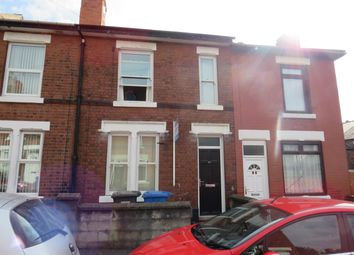 Thumbnail 3 bed terraced house to rent in Howe Street, Derby
