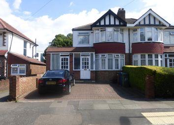 Thumbnail 3 bed semi-detached house for sale in Walton Drive, Harrow
