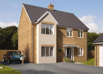"Thumbnail 5 bedroom detached house for sale in ""The Durham"" at Great Melton Road, Hethersett, Norwich"