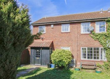 Thumbnail 4 bed semi-detached house for sale in Naseby Court, Bradville, Milton Keynes