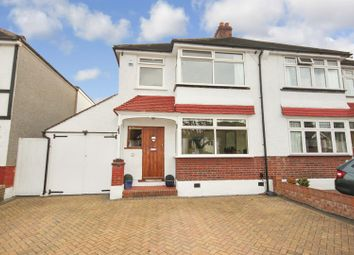Thumbnail 3 bed semi-detached house for sale in Links View Road, Croydon, London