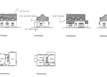 Thumbnail Land for sale in Building Plot And Stables, Bush Lane, Callow End, Worcester