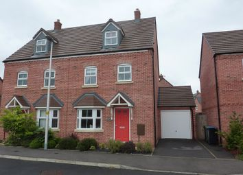 Thumbnail 4 bed semi-detached house for sale in Copenhagen Way, Alcester