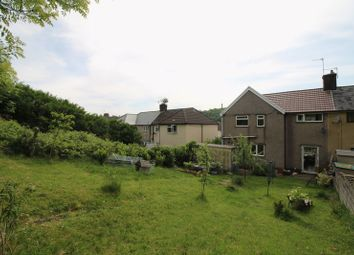 Thumbnail 3 bed semi-detached house for sale in Dyffryn Crescent, Rhydyfelin, Pontypridd