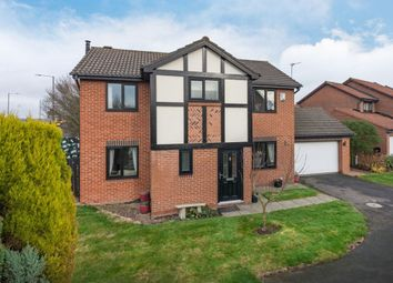 Thumbnail 4 bed detached house for sale in The Glade, North Walbottle, Newcastle Upon Tyne
