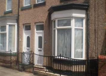 Thumbnail 2 bed terraced house to rent in Westmoorland Street, Darlington, County Durham
