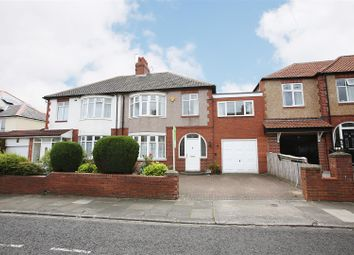 Thumbnail 4 bed semi-detached house for sale in Swarland Avenue, Longbenton, Newcastle Upon Tyne