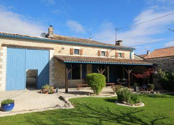 Thumbnail 4 bed property for sale in Villefagnan, Poitou-Charentes, France