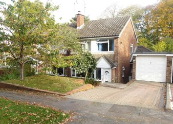 Thumbnail 3 bed semi-detached house for sale in Park Hill, Church Crookham, Fleet