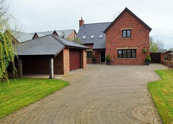 Thumbnail 4 bed detached house for sale in Plains Road, Wetheral, Carlisle, Cumbria