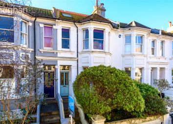 Thumbnail 4 bed terraced house for sale in Waldegrave Road, Brighton