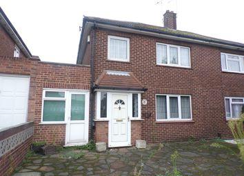 3 bed semi-detached house for sale in Alderney Road, Erith DA8