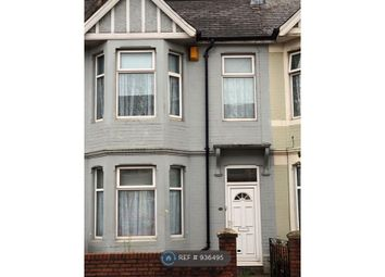 Thumbnail 3 bed terraced house to rent in Caerleon Road, Newport