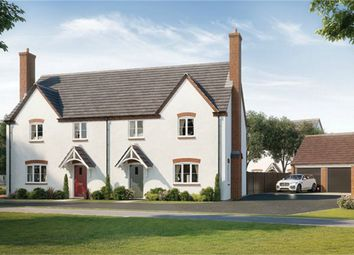 Thumbnail 3 bed semi-detached house for sale in Montague Place, Worlds End Lane, Weston Turville, Buckinghamshire